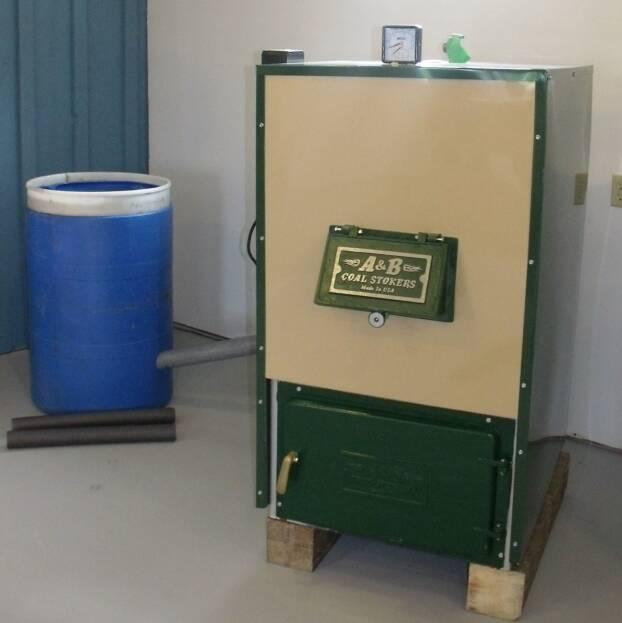 Smallest coal stoker boiler boiler for Alternative heating systems for homes